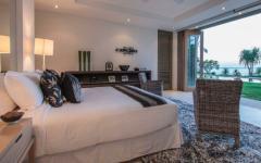chambre au mur amovible villa Thaïlande