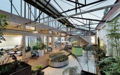 intérieur extérieur rénovation loft ville