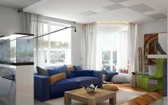 appartement russe moderne designer