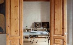 design retro bois massif rustique