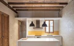 touches modernes industrielles intérieur design rustique