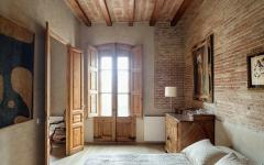 intérieur en bois design ancien rustique