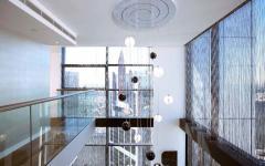 luminaire lustre design luxe appartement duplex