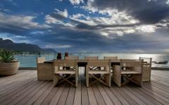 terrasse vue sur mer exotique luxe