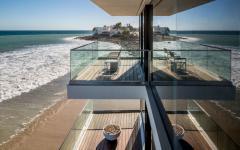 balcon terrasse vue mer