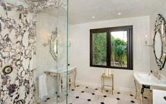 Salle de bain design luxueux Malibu
