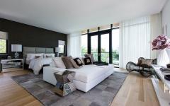 superbe design chambre à coucher miami