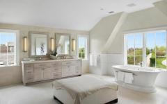 baignoire luxe avec vue