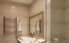 salle de douche italienne machine à laver