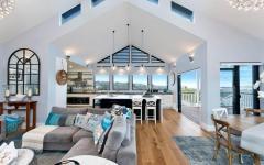 pièce de vie extension moderne maison secondaire plage