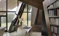 architecture contemporaine extérieure et intérieure