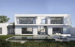 villa contemporaine côte vacances mer