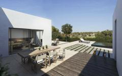 terrasse villa de luxe vacances