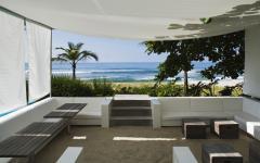 terrasse maison de vacances mer