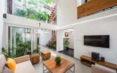 salon principal maison de ville famille architecte