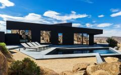 piscine de luxe belle demeure au désert