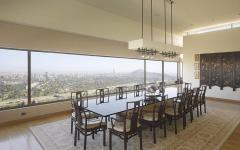 résidence luxe à vue époustouflante