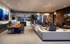 séjour spacieux luxe résidence de grand standing avec vue