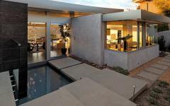 superbe cour intérieur patio maison de luxe