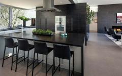 cuisine moderne résidence de haut standing avec vue panoramique