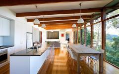 intérieur en bois éco responsable