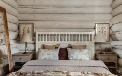 chambre design unique bois rustique
