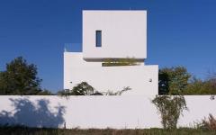 résidence moderne bucarest extérieur