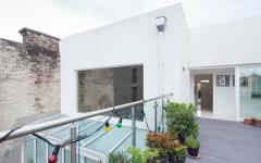 outdoor aménagement maison futuriste