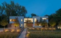 maison préfabriquée modulaire archi contemporaine