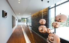 couloir spacieux luxe maison d'archi