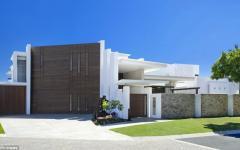 maison contemporaine vue d'extérieur