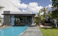 pavillon de ville avec piscine luxe