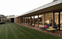 terrasse maison plain-pied architecture contemporaine