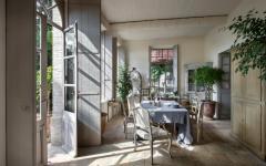 magnifique salle à manger véranda