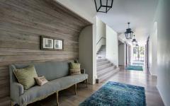 couloir design rustique maison de charme campagnard