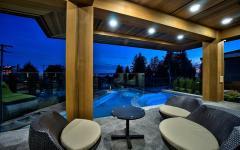 piscine extérieur maison de charme à vancouver
