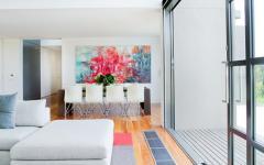maison de charme citadine design coloré