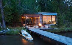 belle demeure pleine nature ponton lac privé