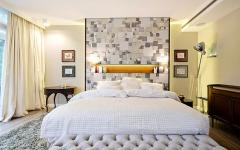 chambre à coucher moderne luxueuse