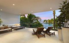 vue sur océan maison de luxe floride