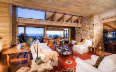 résidence de prestige intérieur rustique toscane
