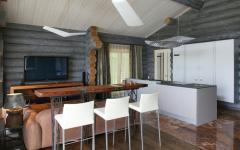maison luxe en bois