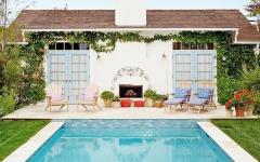 cottage villa de vacances retro californie