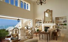 salle à manger villa de vacances vue sur mer