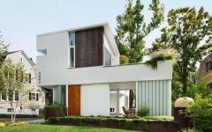 inspiration verte pour maison de ville écologique