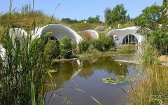belle maisons futuristes d'architecte