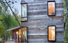 maison en bois archi contemporaine
