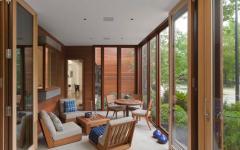 maison en bois architecture moderne écologique verte
