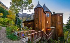 résidence secondaire de vacances en montagne