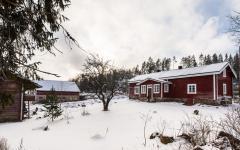 Maison de campagne finlandaise en rondins